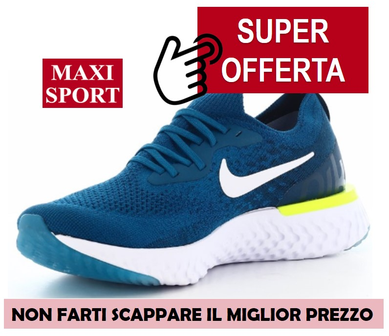 Recensione Nike Epic React Flyknit